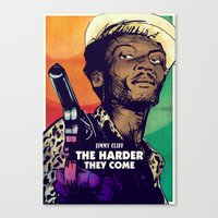 The Harder They Come Canvas Print