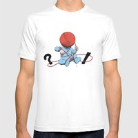 Mankind Mens Fitted Tee White SMALL