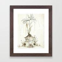 Fairy House Framed Art Print