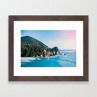 Cape Falcon Framed Art Print