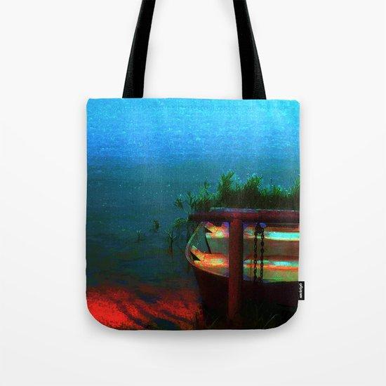 Rusty Boat Tote Bag