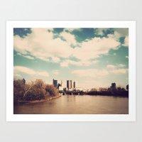 Columbus Ohio 2 Art Print