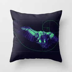 Sacred Vulture Throw Pillow