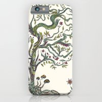 iPhone & iPod Case featuring Trees by nefos