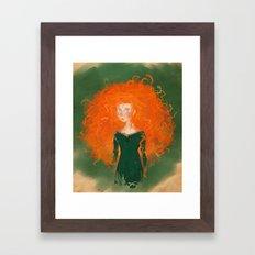 Merida from Brave (Pixar - Disney) Framed Art Print