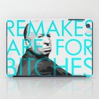 Movie Remakes iPad Case