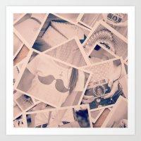 Faded Memories  Art Print