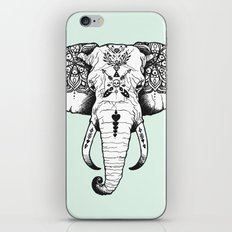Elephant Tattooed iPhone & iPod Skin
