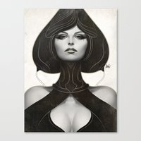 Pepper Spade Canvas Print