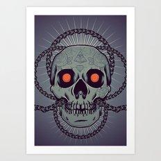 Chainbreaker II Art Print