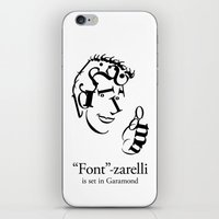 'Font'-zarelli iPhone & iPod Skin