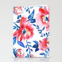 Peonies R+B Stationery Cards