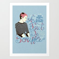 À Bout De Souffle - Ale… Art Print