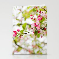 Spring Confetti Blossoms Stationery Cards