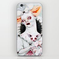 Zombie Queen iPhone & iPod Skin