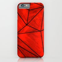 iPhone & iPod Case featuring Modern Abstract Triangle Pattern by Michael Weitsen