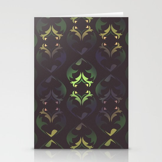 Heart Forest Stationery Card