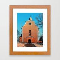 The Village Church Of Be… Framed Art Print