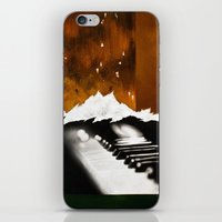 Music Triptych: Piano iPhone & iPod Skin