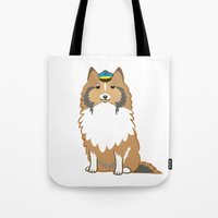Animal Police - Collie Tote Bag