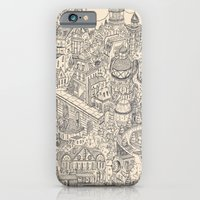iPhone & iPod Case featuring Two Channels b/w by andres lozano
