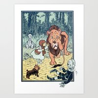 Wizard of Oz Art Print