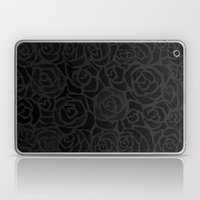 Cluster of Black Roses Laptop & iPad Skin