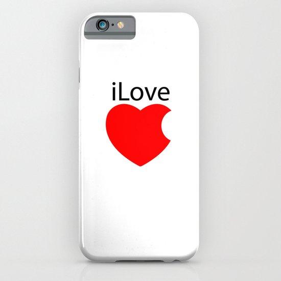 iLove iPhone & iPod Case