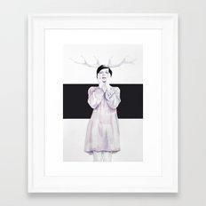 Dementia By Shea Kendall Framed Art Print