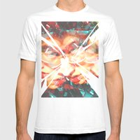 Beyond Me Mens Fitted Tee White SMALL
