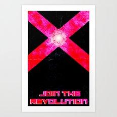 Join the REVOLUTION Art Print