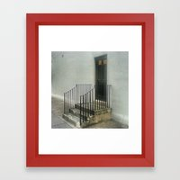 Knock Knock Who's There Framed Art Print