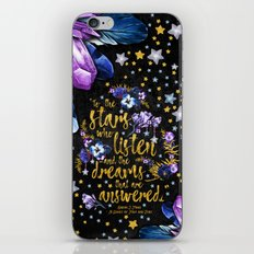 A Court of Mist and Fury - To The Stars iPhone & iPod Skin