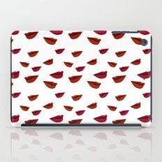 retro lips iPad Case