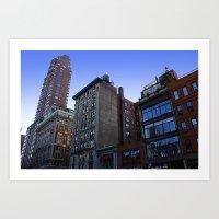 New York City Buildings … Art Print