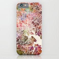 Baltimore map iPhone 6 Slim Case