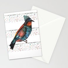 Birds and hats! Stationery Cards