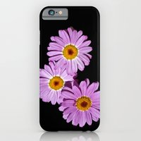 iPhone & iPod Case featuring Three pink ones by Cozmic Photos