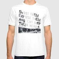 Killer Photographers Mens Fitted Tee White SMALL