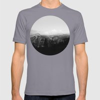 Yosemite X Glacier Point Mens Fitted Tee Slate SMALL