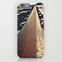 iPhone & iPod Case featuring Tacoma train tracks by Vorona Photography