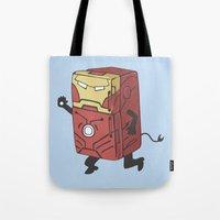 Refrig'r-Iron-Man Tote Bag
