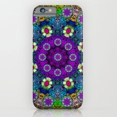 Colors and flowers in a mandala Slim Case iPhone 6s