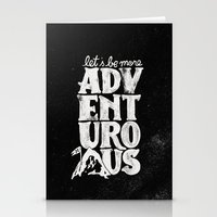 MORE ADVENTUROUS II Stationery Cards