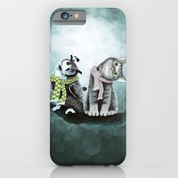 Cat and Owl iPhone 6 Slim Case