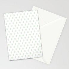 Green Spotty Pattern  Stationery Cards