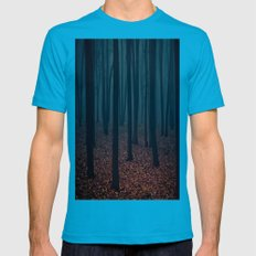 Carnivore Mens Fitted Tee Teal SMALL