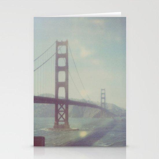 Golden Gate - Polaroid Stationery Card