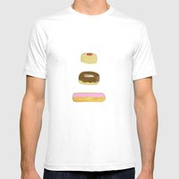 Glass Case Mens Fitted Tee White SMALL