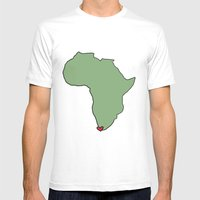 Ali Hearts Cape Town Mens Fitted Tee White SMALL